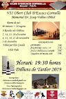 """7è Obert Club Escacs Cornellà Memorial """"Doctor Vallvè"""""""