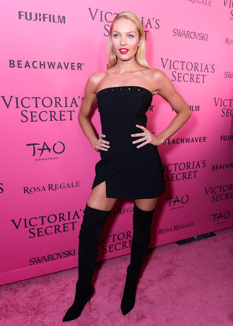 Fashion Model @ Candice Swanepoel - Victoria's Secret Fashion Show After Party in New York City