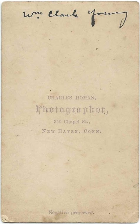 The Oldest Identified People In Album Are William Clark Young And His Wife Mehitable Utley Swift Contains Two Photographs Of