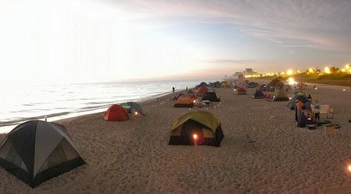 ¿Dónde acampar en Colima?