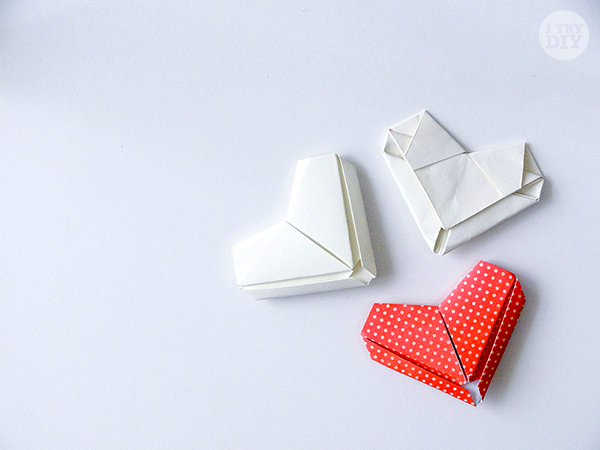 how to make origami letters