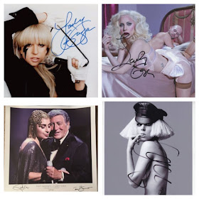 Affordable Signed Lady Gaga Items!