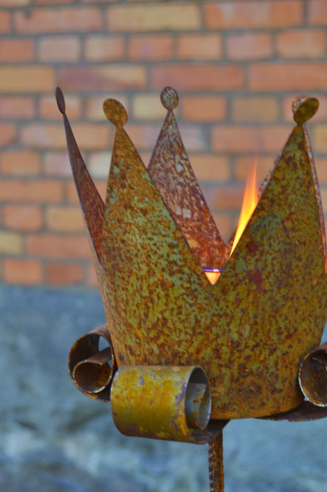 marschallhållare, eldkorg, marschallhållare rosverkstan