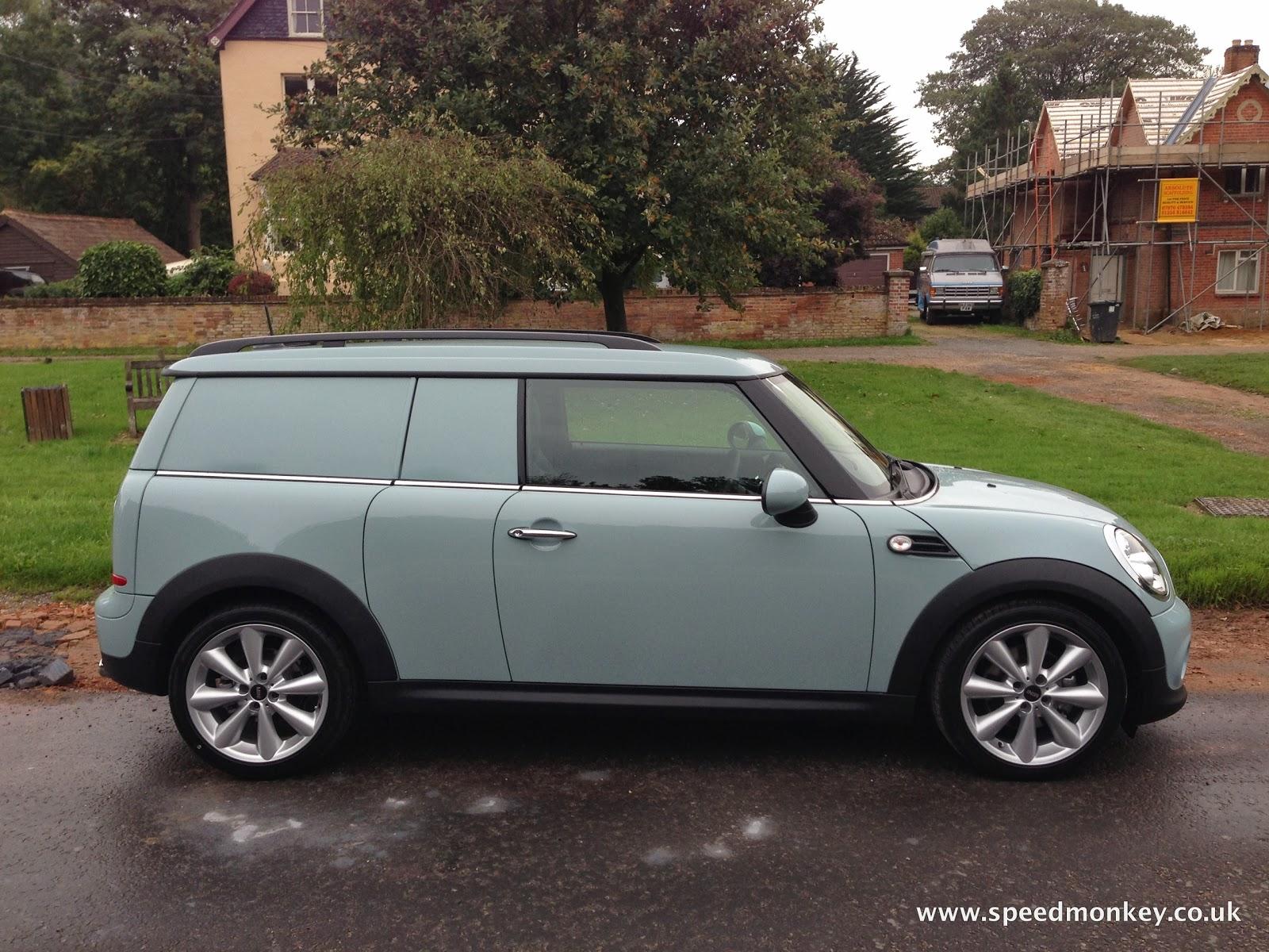 speedmonkey 2013 mini cooper d clubvan first drive review. Black Bedroom Furniture Sets. Home Design Ideas