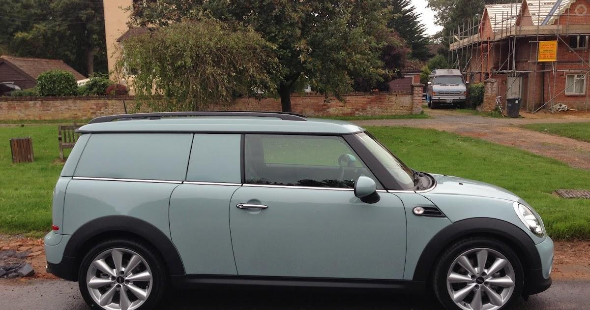 Speedmonkey 2013 Mini Cooper D Clubvan First Drive Review