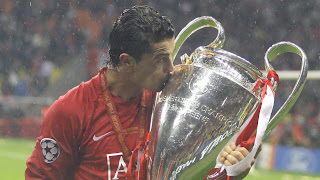 Cristiano Ronaldo Kissing Cup HD Wallpaper