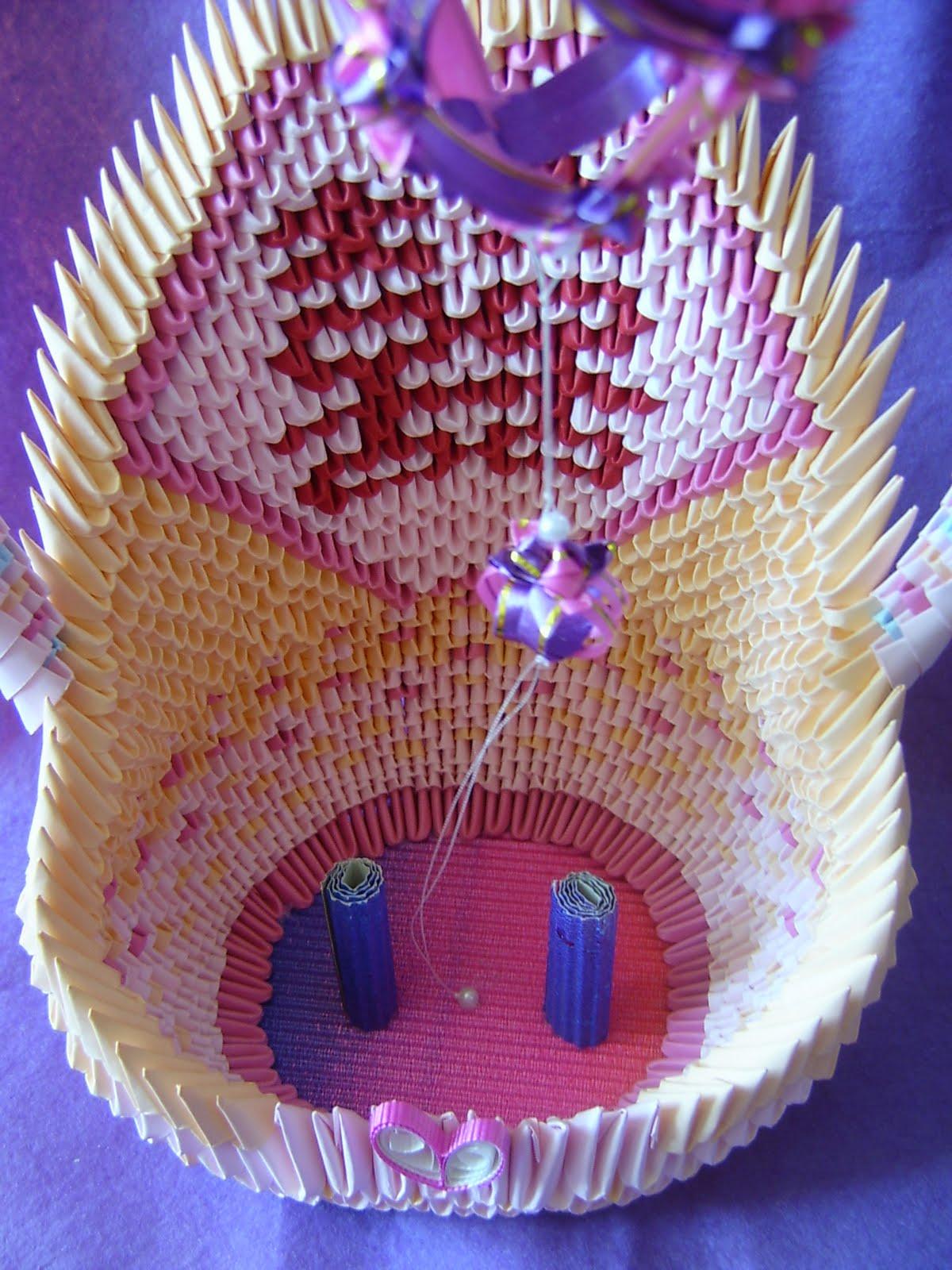 Jewellia handicrafts my new design 3d origami wedding ornament jewellia handicrafts jeuxipadfo Images