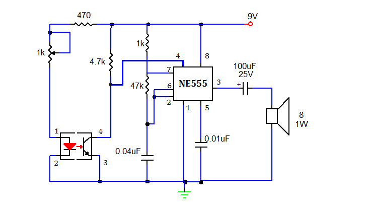smoke detector using 555 timer | my circuits 9,Block diagram,Block Diagram Of Smoke Detector