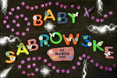 Baby Sabrowske March 2 2011