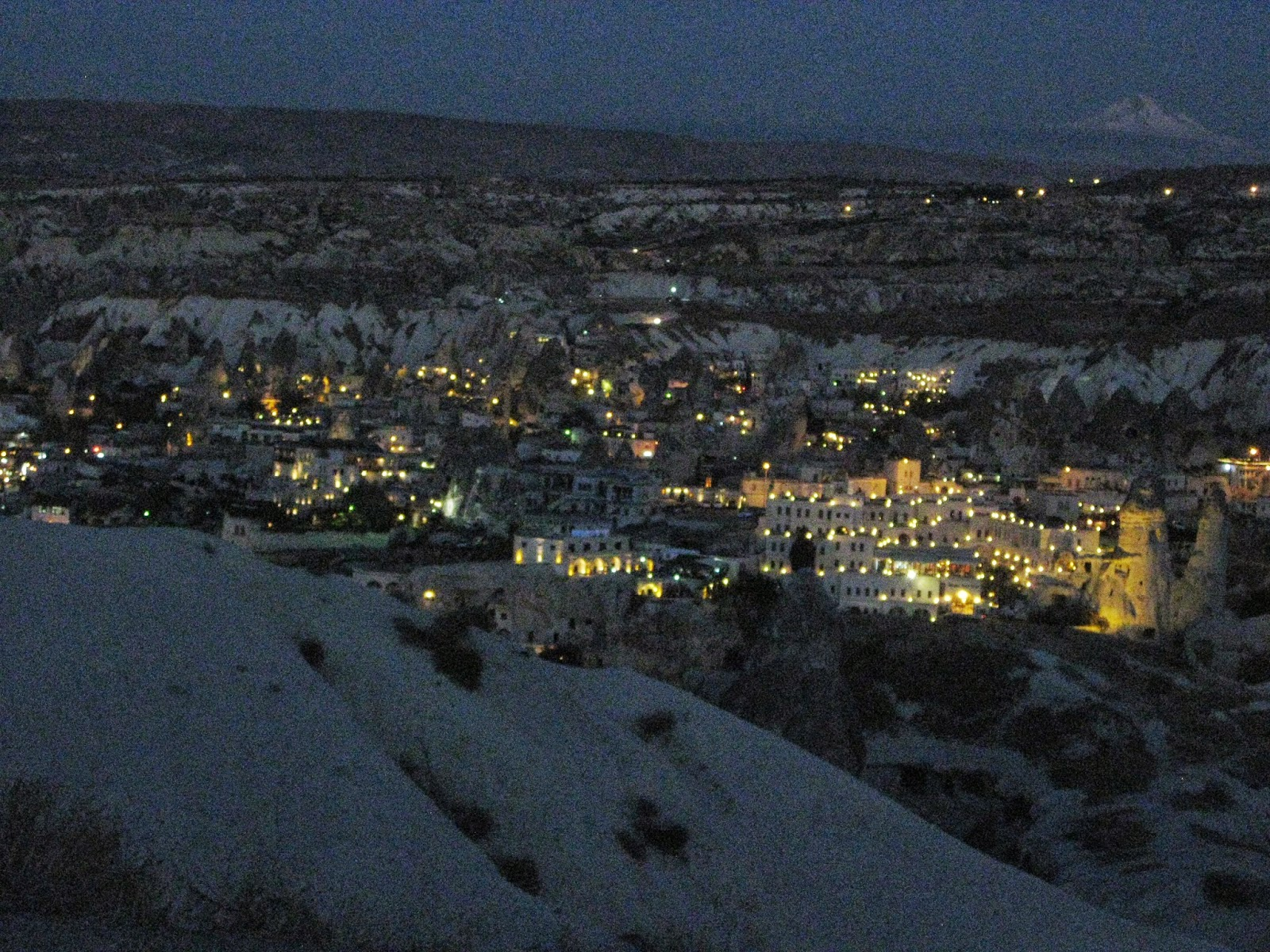 Cappadocia - Beautiful view of the city lights