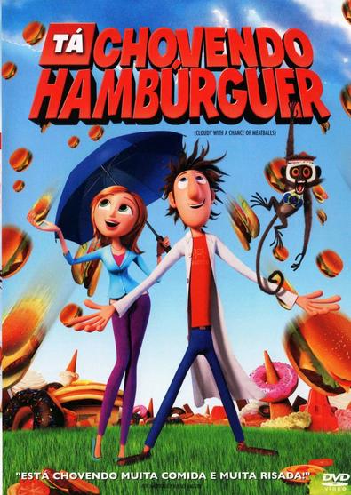 Filme Tá Chovendo Hamburguer Dublado AVI DVDRip