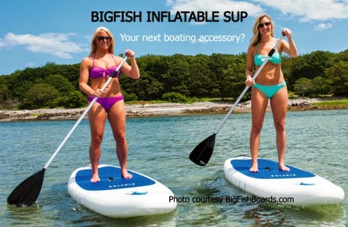 Bigfish inflatable SUP, your next boating accessory?