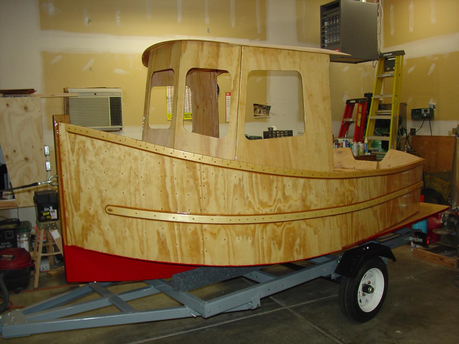 Toddu0027s Mini Tug Boat Building Journal