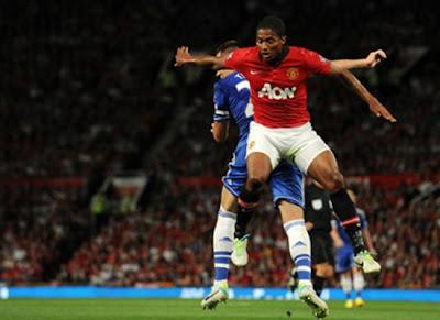 Antonio Valencia Manchester United vs Chelsea 20132014