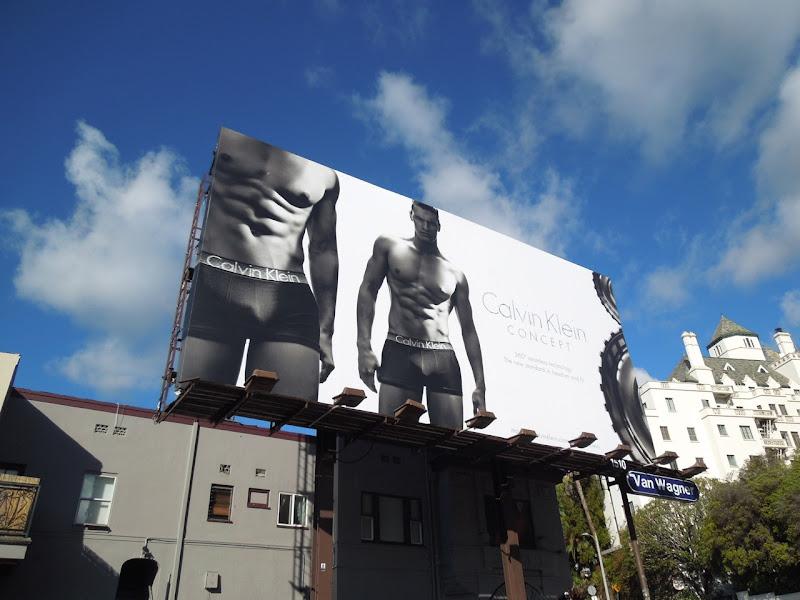 Matthew Terry Calvin Klein Concept underwear billboard
