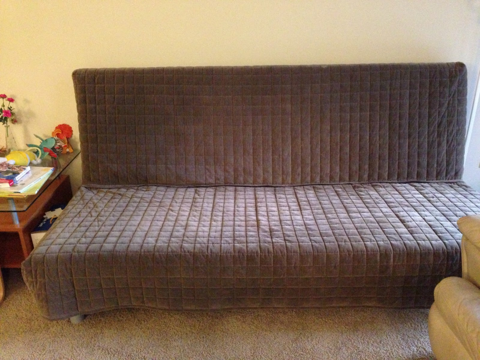 $165   IKEA BEDDINGE MURBO Sofa Bed (Frame + Matt + Cover) (sold)