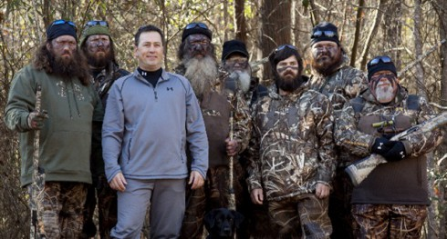 of Dishes and Laundry : Duck Dynasty's Robertson Family Reveals