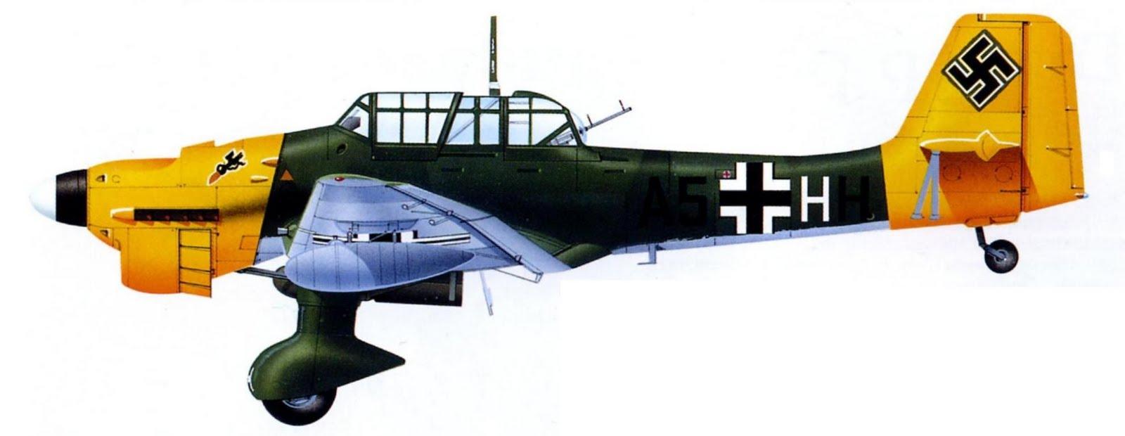 Юнкерc ju 87r 2 из 1 stg 1 1 й эскадрильи 1 го