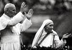 Santos Madre Teresa de Calcuta y Juan Pablo II