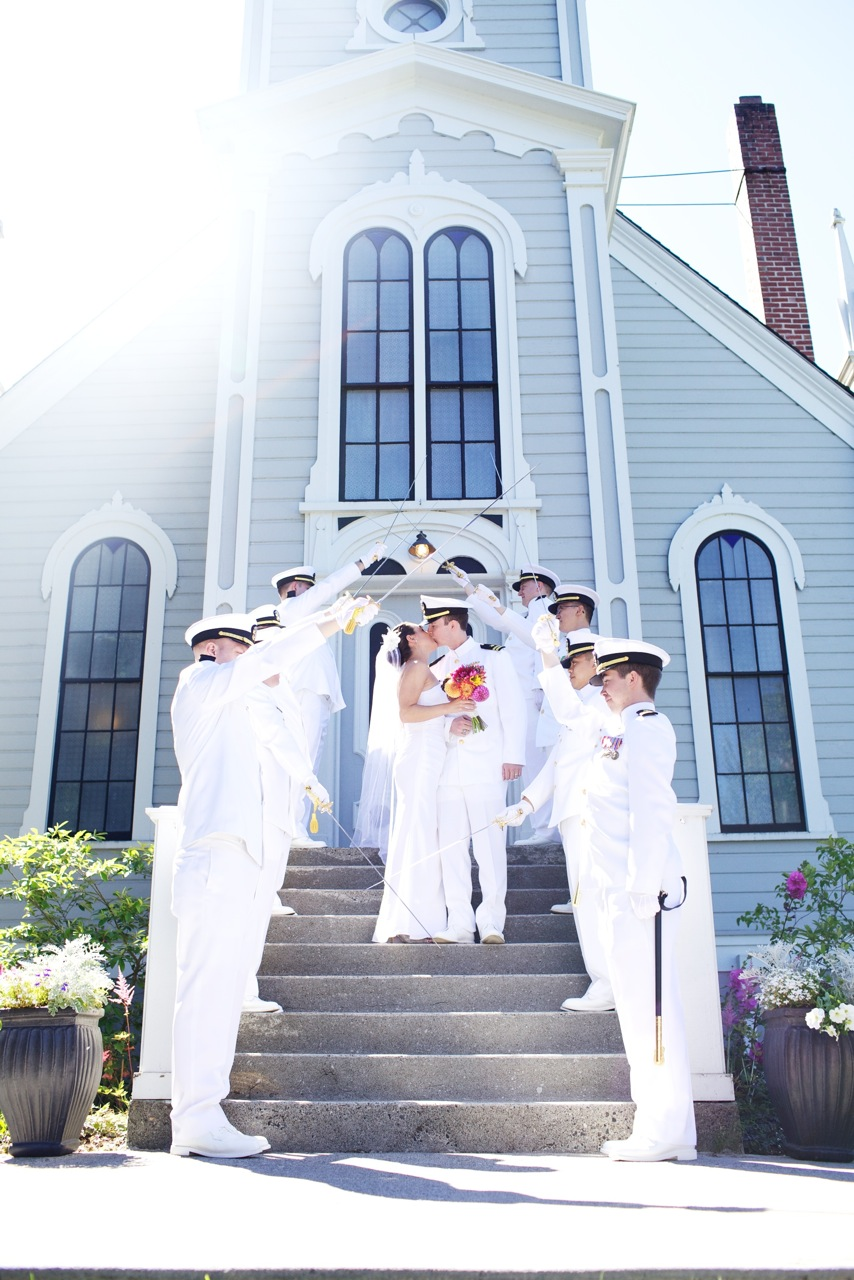 going to the chapel military weddings us military