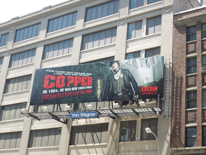 Copper season 1 billboard NYC