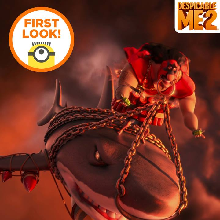 First look at El Macho from Desicable Me 2 animatedfilmrevews.blogspot.com