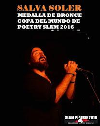 Medalla de bronce en la Copa del Mundo de Poetry Slam 2016