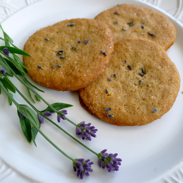 Honey and Lavender Cookies