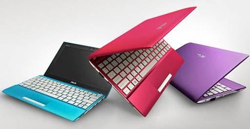 Asus Eee PC Flare Series Netbook Dengan Power Start Super