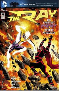 The Ray DC Comics Jamal Igle Justin Gray Jimmy Palmiotti