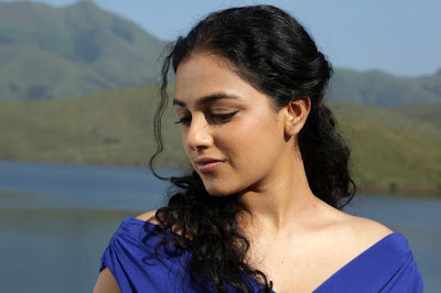 gorgeous and fair Nithya menon latest photos