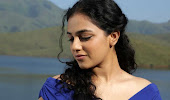 gorgeous and fair Nithya menon latest photos