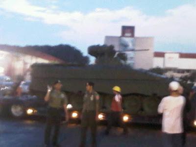 Tank Medium Marder Tiba dihalim