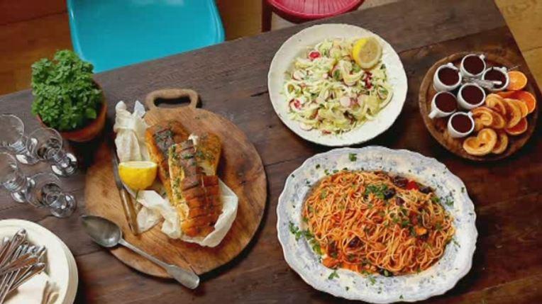 Спагетти от джейми оливера рецепты
