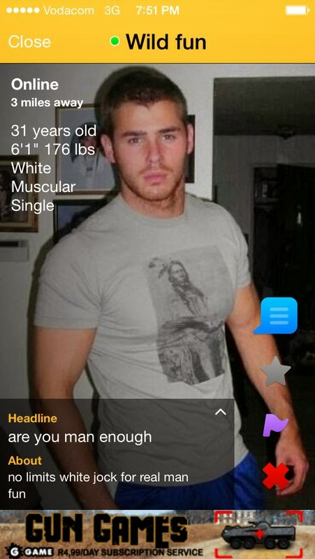 Grindr south africa