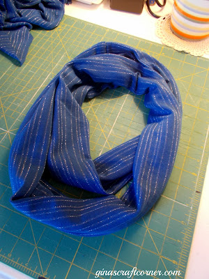 Easy Infinity Scarf Tutorial by Ginas Craft Corner
