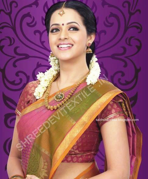 Bhavana hd saree pictures bhavana hot saree images all sab hot actress bhavana gorgeous look in saree for altavistaventures Image collections