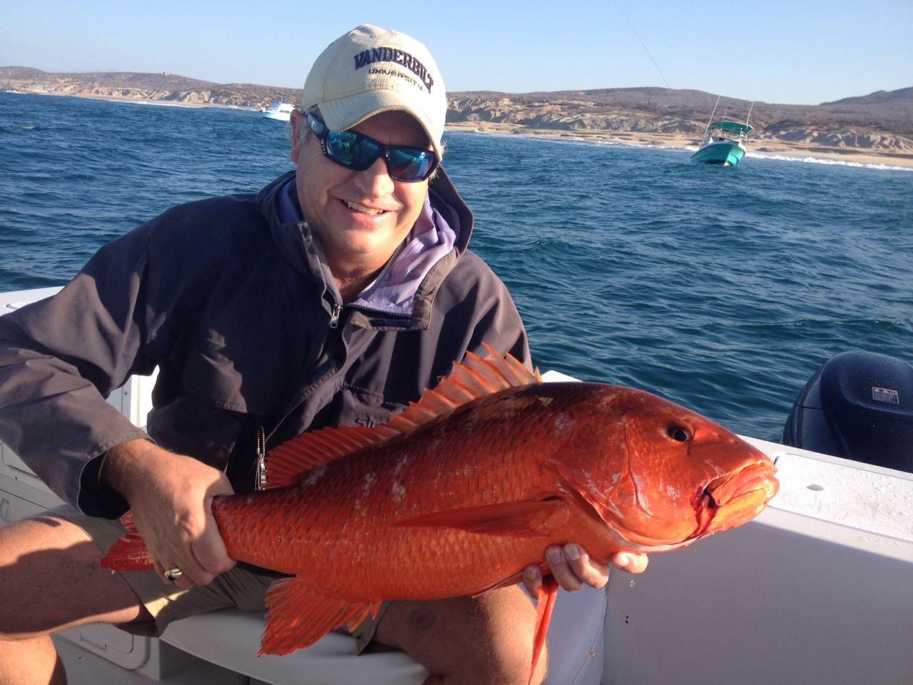 Baja anglers robert hutton has had some good fishing last for Good fishing days