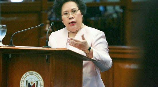 Santiago's report that BBL is unconstitutional signed by 12 senators