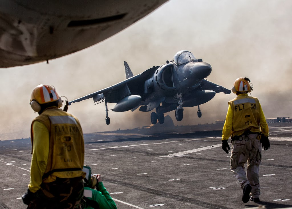 Harrier Jump Jet Take-off