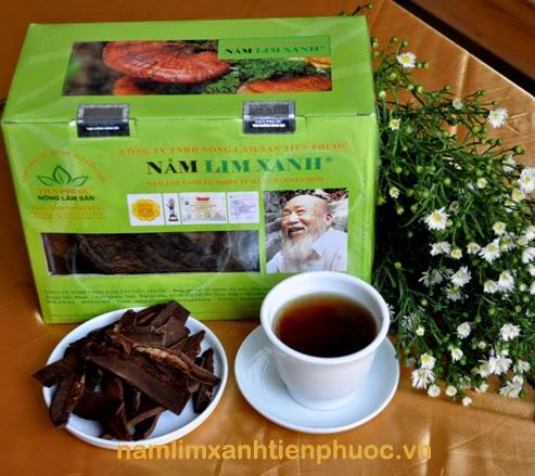 Nấm lim xanh Tiên Phước được đánh giá cao về công dụng chữa bệnh