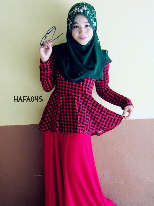 Baju Kurung Peplum Dari Blog Hazanis Part Love Cinta