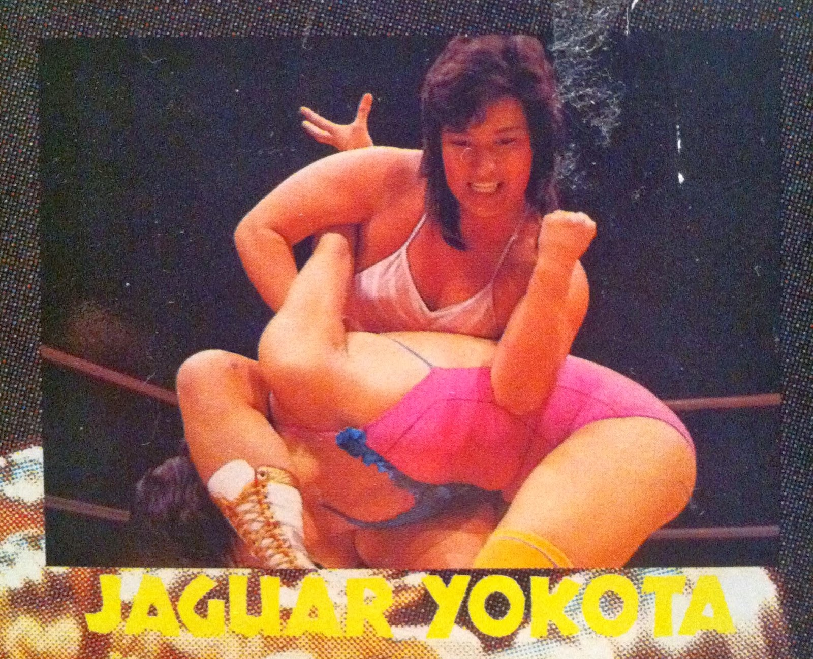 Japanese Female Wrestler Jaguar Yokota