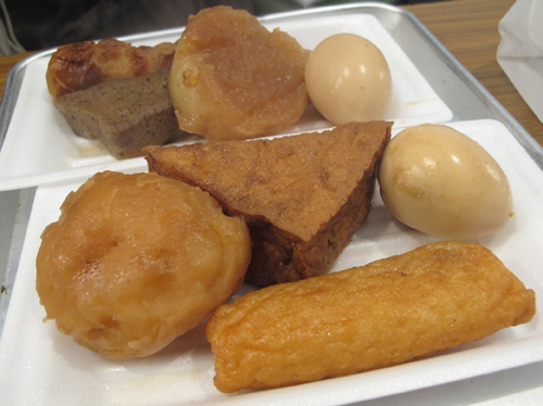 Oden ready to eat