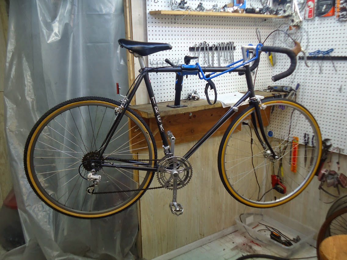 John S Bicycle Restorations My 1980 Trek 412 Quot Restomod
