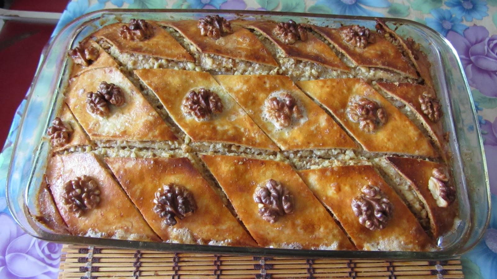 Бакинская пахлава рецепт приготовления