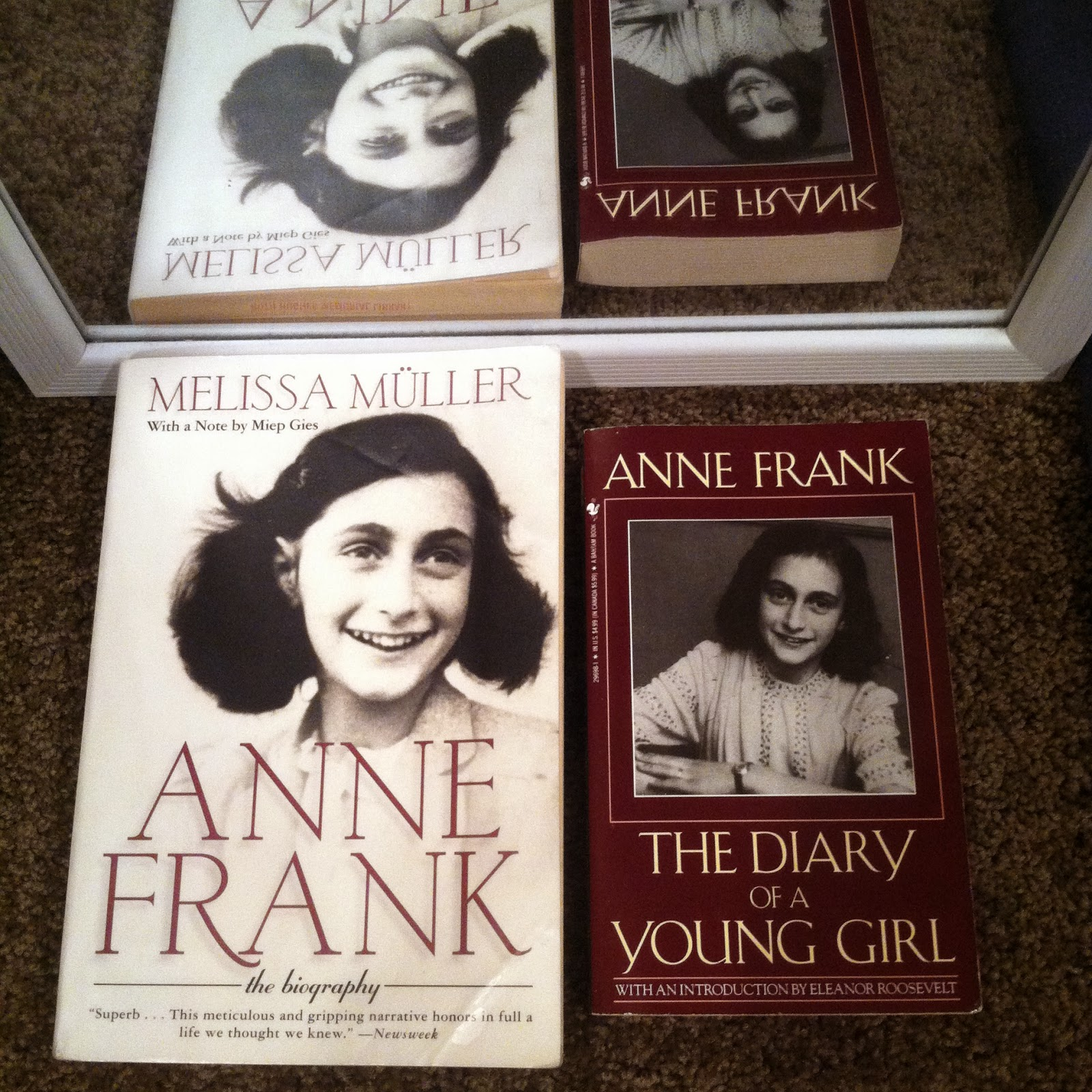 anne frank biography and the short