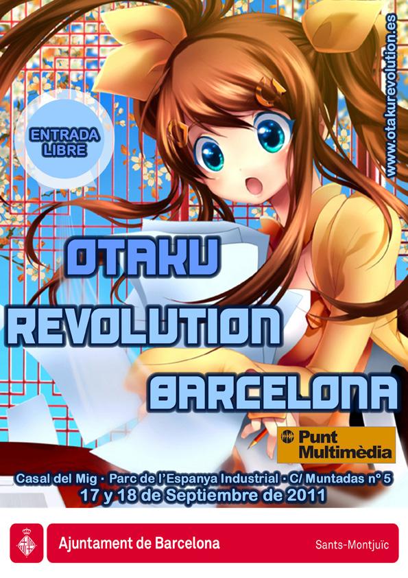 Otaku Revolution Barcelona 2011 Cartel-Otaku-Revolution-Barcelona-2011-1b