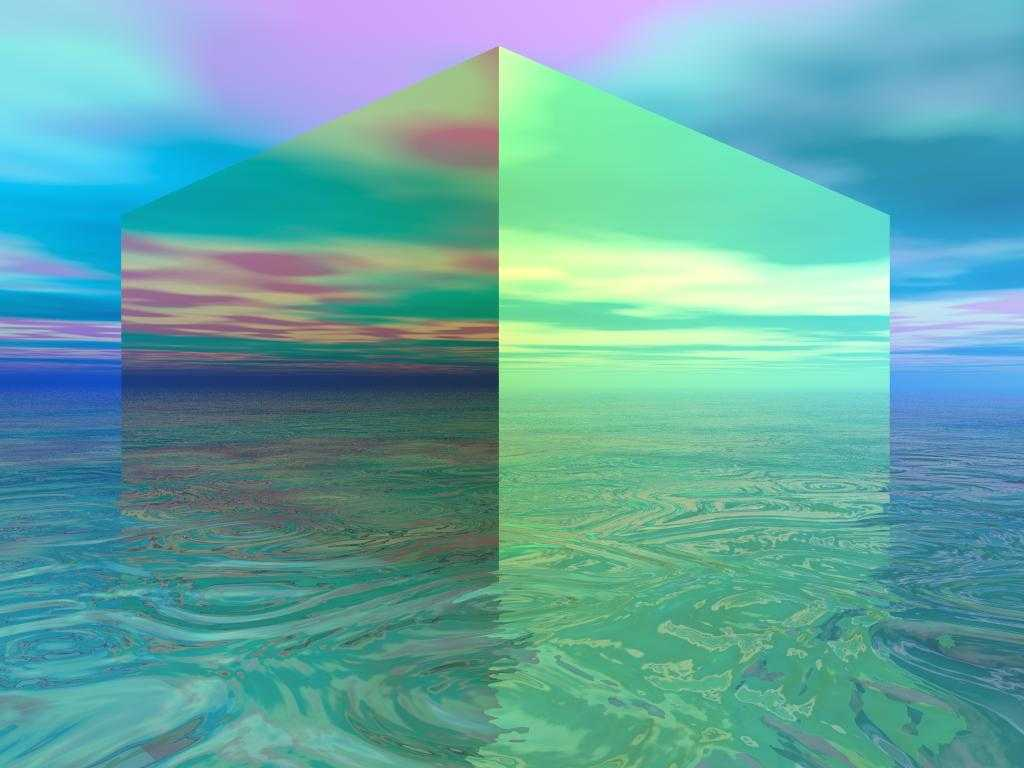 Duken reale por jan vetem skicime 3D Weird-3d-wallpaper