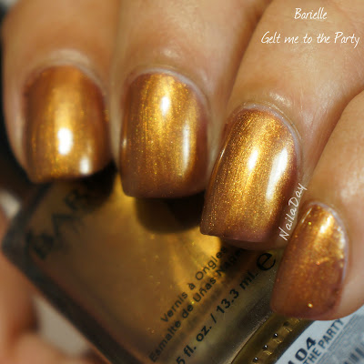 NailaDay: Stash Swatch - Barielle Gelt Me To The Party